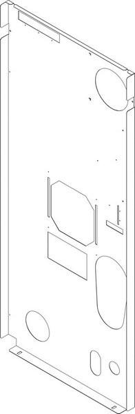 Buderus Rückwand CLA-1 150 (r) everp 8738804938