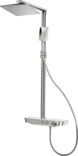Brausesystem EVAJO Set Kopfbrause + Handbrause Thermostatmischer Evenes