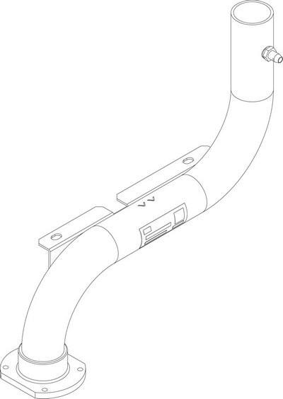 Buderus Gasanschlussrohr VM CLA-1 150-300 everp 8738804935