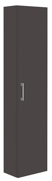 Spiegelschrank m. bel. Blende anthrazitmatt 3 Türen 1200x740x160mm