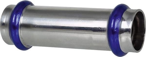Edelstahl Pressfitting V-Kontur Absatznippel 42x22mm