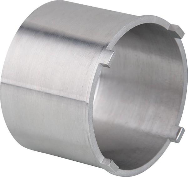Pendeltüre Hüppe Alpha 2 silber matt, 5mm, 800mm