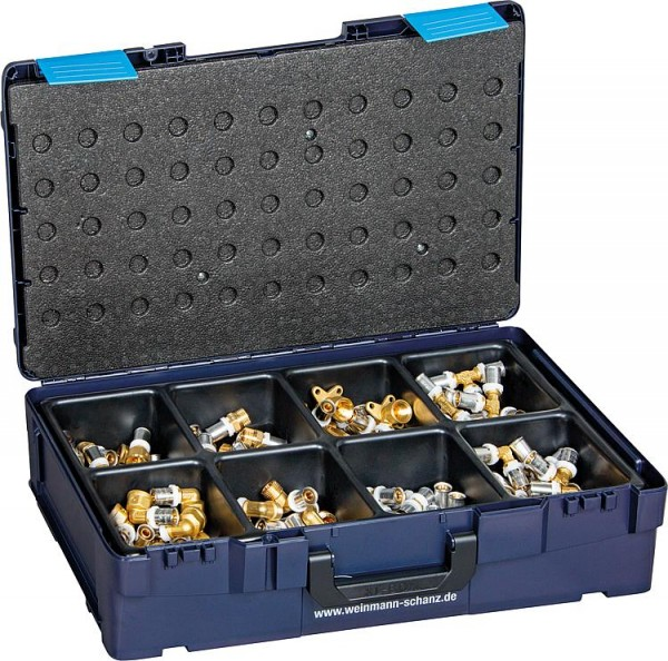 Fittingkoffer WS-Press (TH) 80-teilig, D=16mm in WS XL-Boxx