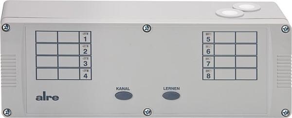 Funkregelung Heizen Empfänger Alre HTFRL-316.125, 8-Kanal Funkempfänger