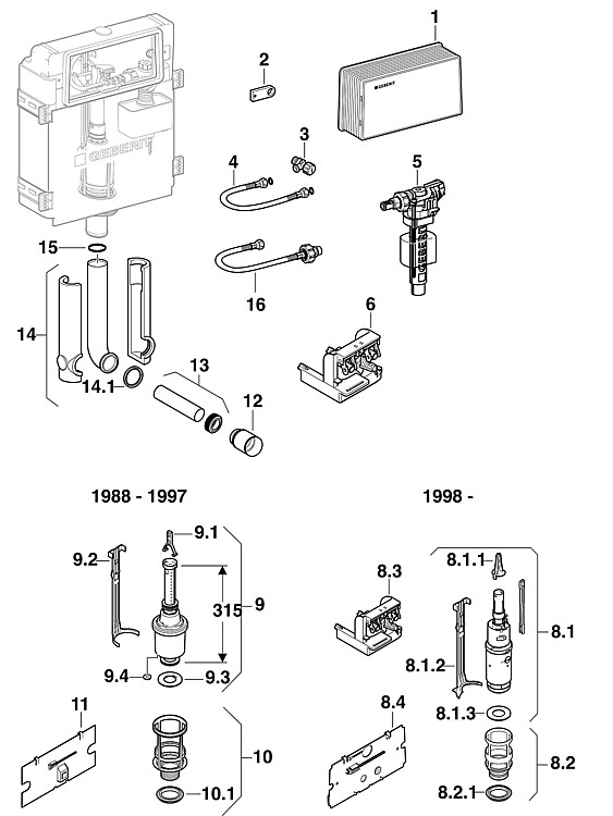 geberit heberglockendichtung 63x32mm dichtung. Black Bedroom Furniture Sets. Home Design Ideas